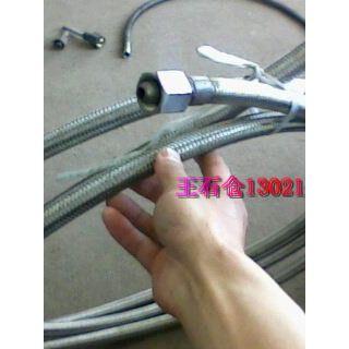 【输送高温导热油用】 可弯曲 不锈钢 金属软管