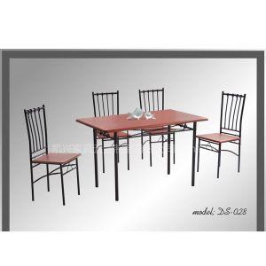 供应金属餐台椅 1 4 dining set DS-028