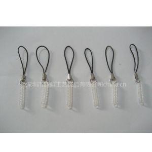 供应PU弹簧绳 弹力绳 手机绳