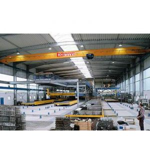 供应维修车间专用3t欧式单梁桥式起重机|专用行车