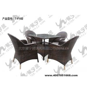 供应北京藤编桌椅