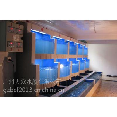 广州海鲜池公司,广州专业定做海鲜制冷鱼池,广州哪里制作海鲜玻璃鱼缸,广州海鲜鱼池设计海鲜池设备