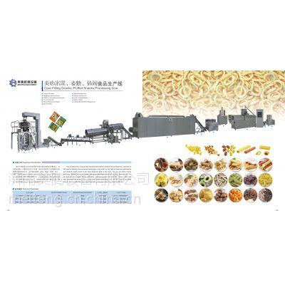 供应夹心米果膨化食品生产线