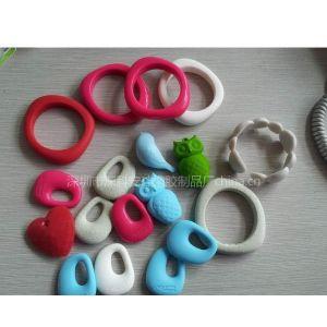 供应各种类型硅胶婴儿磨牙棒