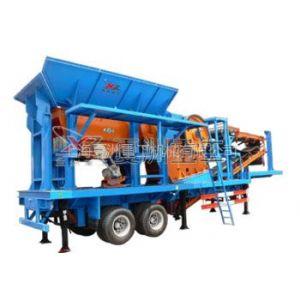 供应供应建筑垃圾处理设备移动式破碎站
