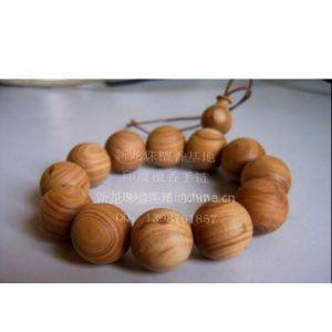 供应印度檀香佛珠手链 (开光精品,旺财添福)