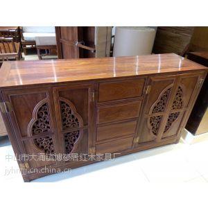 供应供应中山博豪居红木家具厂刺猬紫檀红酒柜