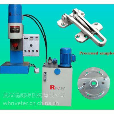 瑞威特铆接直径9毫米的液压台是铆接机