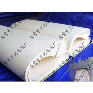 供应  滚筒热转印机毛毯 毛毡 毡套