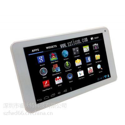IPS屏四核7.85寸平板电脑带闪光灯3G通话 GPS