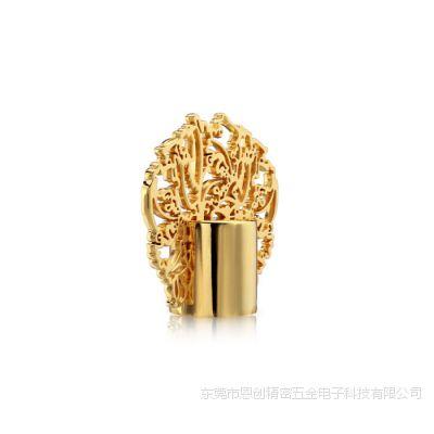 东莞恩创锌合金加工瓶盖香水 合金香水盖 可来图来样定制