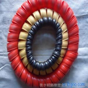供应彩色塑料保护套、彩色螺旋保护套、彩色油管保护套
