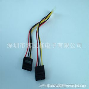 供应2013厂家批发  大4P 电脑线材 带把手 保证保量保时 可定做各规格