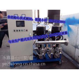 供应上海三利无负压变频供水设备 小区高层生活变频用水 选择三利就是改造生命用水