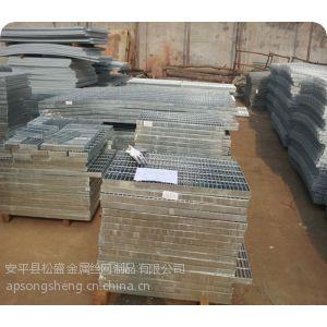 供应国标钢格板 包头热镀锌钢格栅板 厂价155元/平米