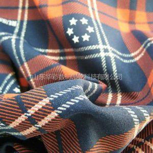 供应青岛匹布印花厂涤纶布料热升华转移印花 涤纶布数码印花加工价格