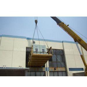 供应昆山大件机械起重吊装设备/机台搬运/昆山叉车装卸***专业