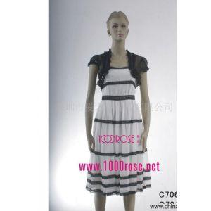 供应2007新款真丝连衣裙(图)