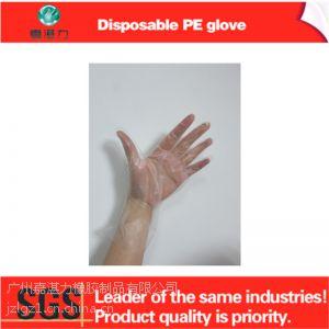 供应家用一次性PE卫生手套 清洁一次性塑料手套 PE手套批发
