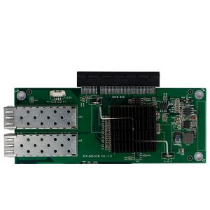 英德斯品牌双千兆光纤网卡SFP-82571EB(2个SFP光纤模块)