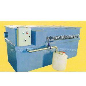 供应南宁龙康玻璃钢隔油池、大排档专用成品隔油池
