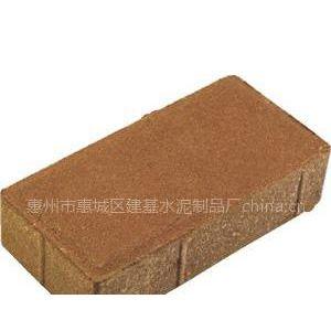 供应建菱砖 建菱彩砖 彩砖 人行道砖
