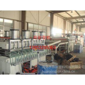 供应PVC木塑发泡家具橱柜板生产线