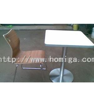 供应连锁餐厅餐桌椅,高级餐桌椅,防火板不锈钢餐桌椅,餐桌椅图片, 餐桌椅价格,餐桌椅批发