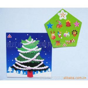 供应磁性板冰箱贴 圣诞套装儿童玩具