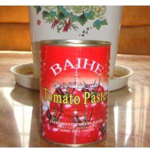 供应高品质番茄酱罐头400克