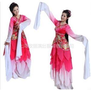 供应上海舞蹈服装租赁 扇子舞 秧歌舞 开场舞 民族舞 古典舞 惊鸿舞服装租赁定做