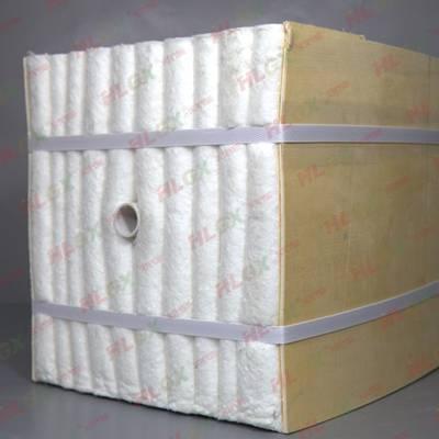 供应陶瓷纤维折叠块井式炉炉衬保温隔热专用