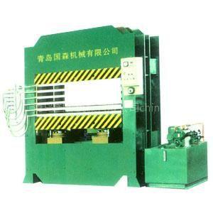 供应青岛国森牌人造板热压机