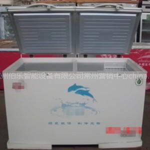 供应伯乐278L单温冷冻玻璃移门冰柜 点菜柜 展示柜 保鲜柜