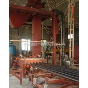 供应青岛钢管油管抽油杆内外壁喷丸清理机。油田钢管内壁喷丸清理机厂家及图片。
