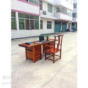 供应非洲菠萝格实木大板 红木大板台办公桌书桌老板桌大班台会议桌