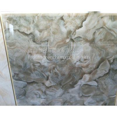 佛山发源地陶瓷厂家直销800*800厚微晶石晶洁亮地面砖 背景墙瓷砖