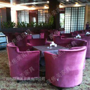 供应西餐厅家具西餐厅单人沙发深圳聚焦美沙发厂供应