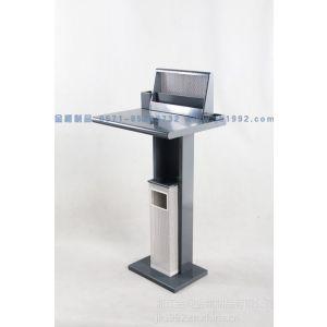 供应银行填单台 大厅单人写字台 可定制颜色填单台