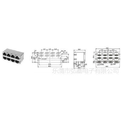 乐清市弘基电子专业生产USB  AVJACK    6.35JACK  DC系列产品