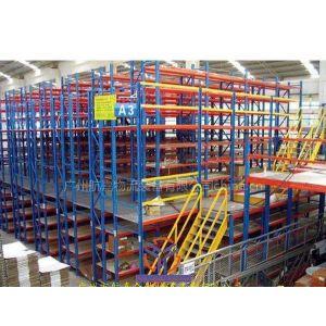 供应广州阁楼货架|广州货架|仓储货架|平台货架