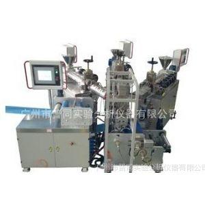供应小型单螺杆三层共挤淋膜复合实验线丨广州普同挤出机