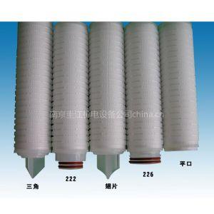 供应40英寸折叠滤芯,来南京圭江机电设备有限公司