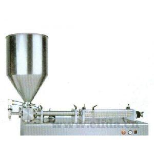 气动半自动膏体灌装机