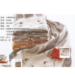 供应小兔绣花竹纤维面巾 家庭洗脸巾  中国结毛巾正品 TD8492