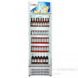 供应海尔冷柜SC-210JA 海尔单门冰箱 海尔冷藏展示柜 海尔玻璃门展示柜