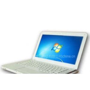 供应迷你笔记本电脑、带光驱上网本、D525山寨笔记本,13.3寸高仿苹果