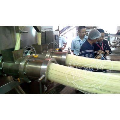 鲜湿米粉生产线-陈辉球米粉生产线物料耗损下降