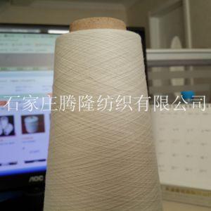 石家庄现货供应32支仿大化32S纯涤纱本白机织用