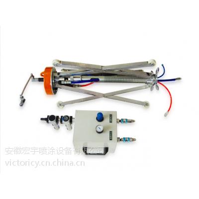 长江牌NKP-3型内孔喷涂器 管道内壁喷涂机 管道内壁爬行器